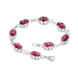 Heather oval bracelet