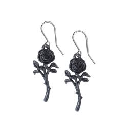 Romance of the Black Rose Earrings