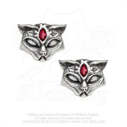Sacred Cat Ear Studs